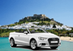 Rent any cabrio and get 15% off!