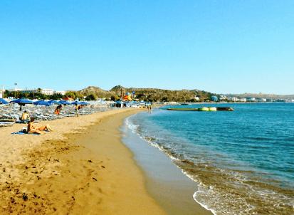 faliraki rhodes - beach