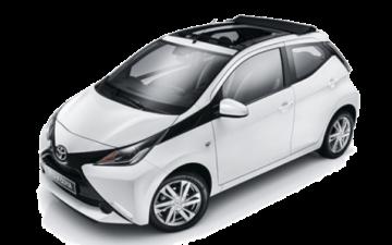 Rent Toyota Aygo Open Top